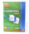 PAPEL CARBONO AZUL 100 PÇS 8787